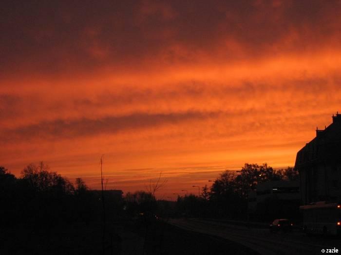wschód słońca na moim końcu świata…
