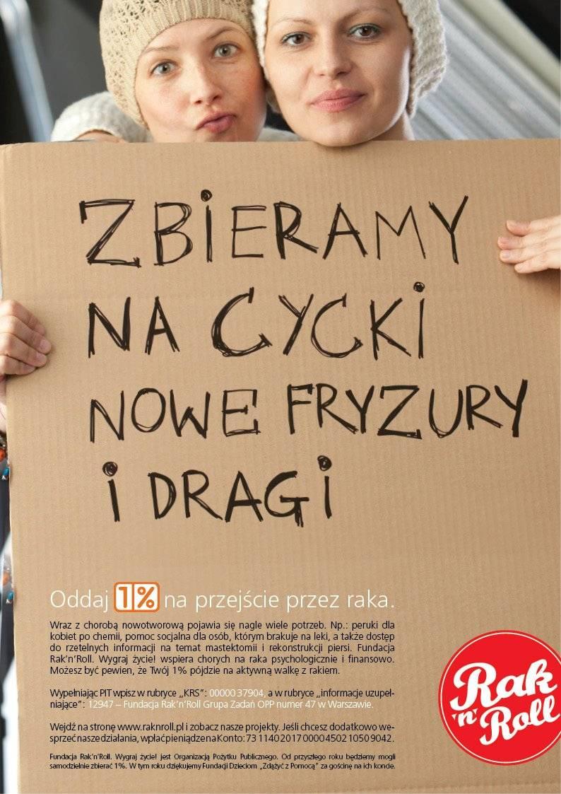 Fundacja Rak n' Roll Magdalena Prokopowicz i Joanna Sałyga