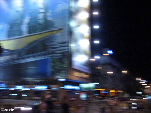 miasto szumi nocą