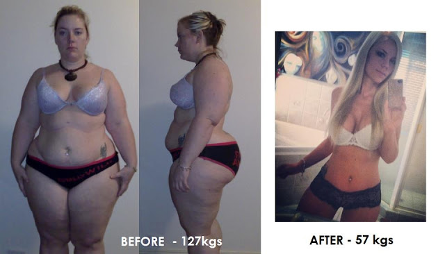 Erin Jaye Willams - before and after