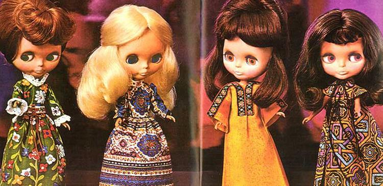 Oryginalne amerykańskie lalki BLYTHE by Kenner z 1972 roku