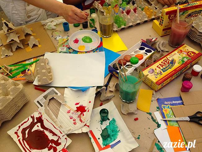 recyklingowe warsztaty Zazie&Syd + kontratak Minionków w Kinotece