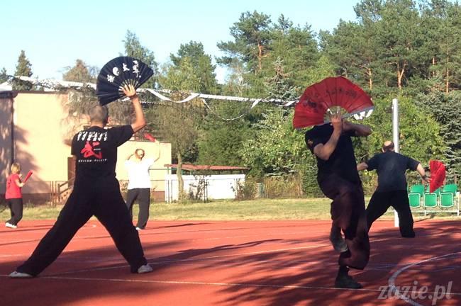 Waplewo, Maróz, obóz kung-fu i tai chi, Zazie Syd Kumok i Miszur