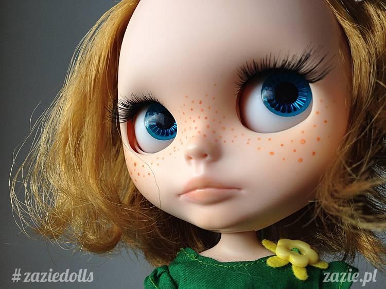 lalka Blythe na sprzedaż, sprzedam lalkę Blythe, custom Blythe doll for adoption, Zazie Custom Blythe Dolls
