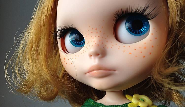 [SPRZEDANA]  lalka Blythe na sprzedaż:  piegowata Ruby pytała o Ciebie ;)
