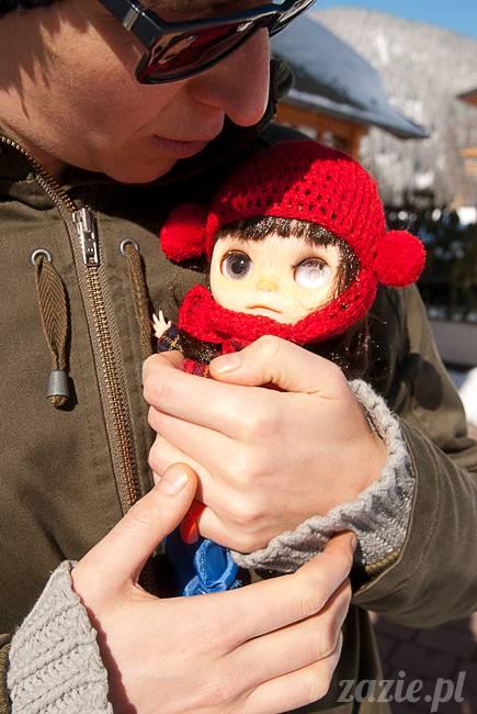 Rarka Orka aka mały Kasztan, Blythe Simply Chocolate, Zazie Custom Blythe Dolls
