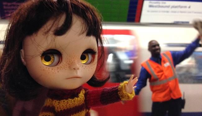 BCUK 2015 Londyn (I):   Orka dans le metro