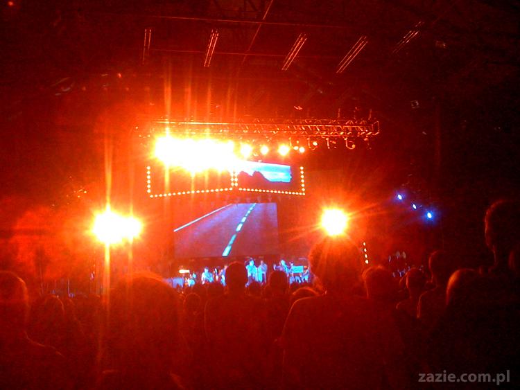 koncert Arcade Fire Warszawa Torwar 2011