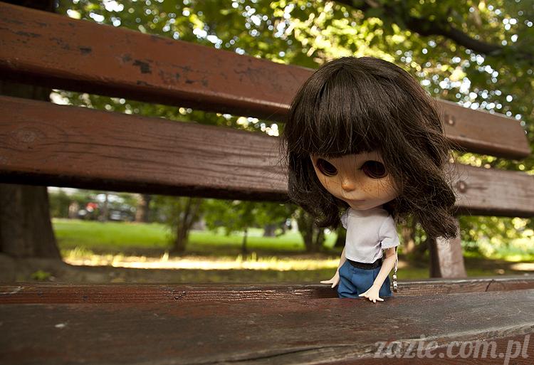 Orka lalka Blythe Simply Chocolate custom by Zazie lalka blajt