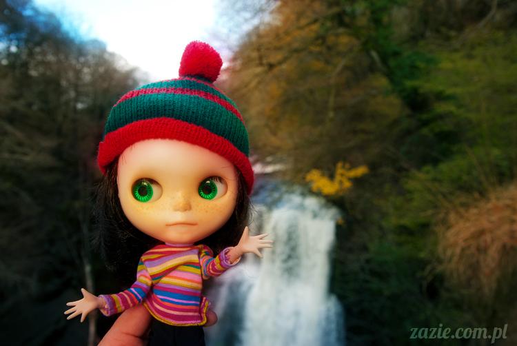 lalka Blythe doll Orka custom by Zazie, South Wales, Brecon Beacon, Gwaun Hepste