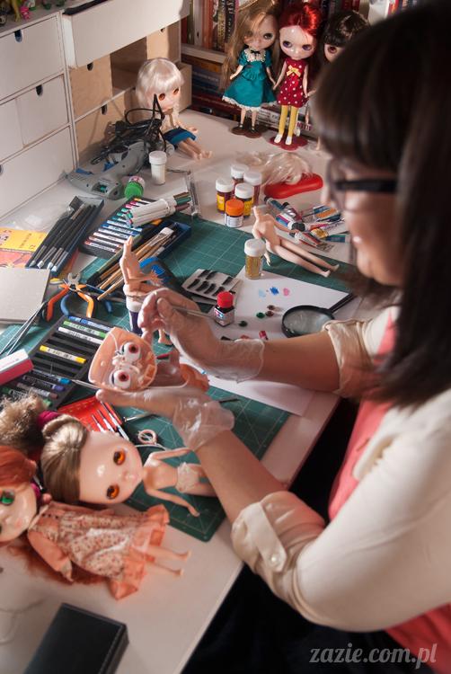 Zazie i lalki Blythe, Takara Neo Blythe Doll, customizowane lalki Blythe Zazie
