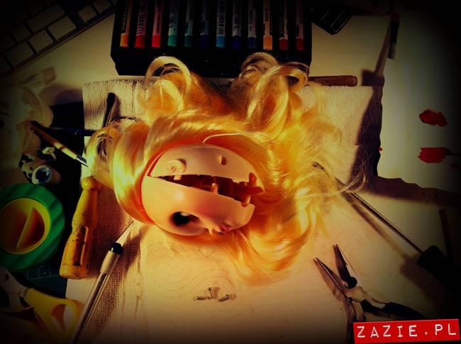 custom blythe doll ooak simply vanilla by Zazie Oh!Zazie