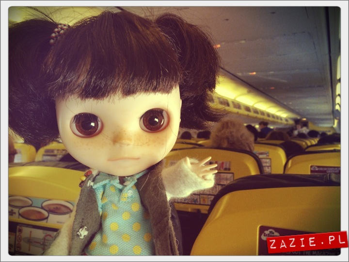 blythe dolls, flight to Barcelona, Blythecon Barcelona 2013