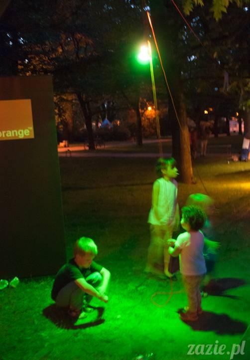 Piknik Ochocian czerwiec 2013 Park Wielkopolski Warszawa Ochota, Ochocianie Sąsiedzi, Posłaniec Uczuć
