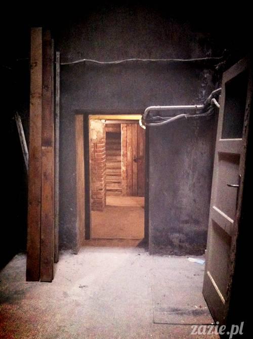 stara ochota przedwojenna kamienica piwnica pełna tajemnic Zazie