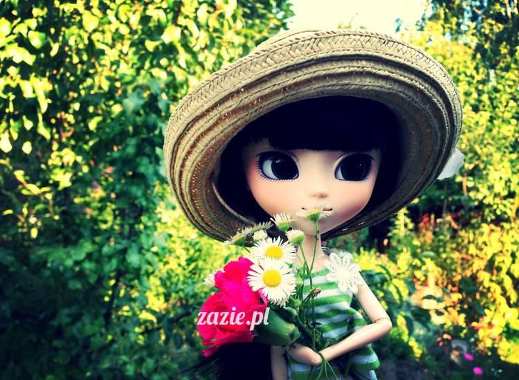 lalka Pullip Ddalgi doll mori style Janinka by Zazie