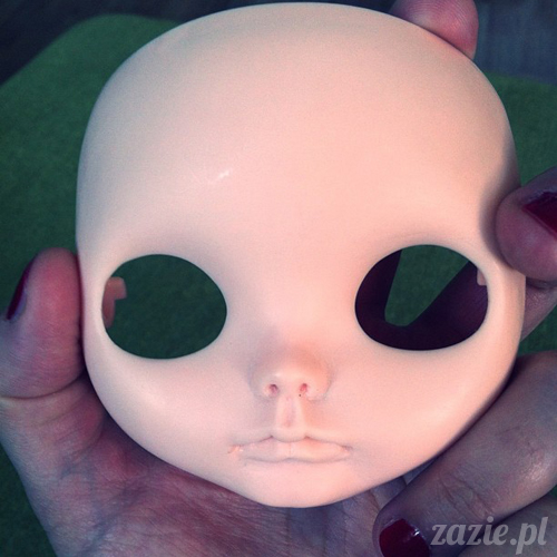 lalka blythe doll customization process ooak custom diy