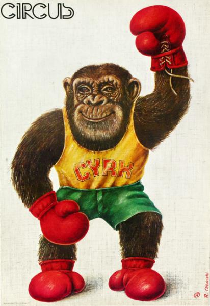 olbinski_rafal_circus_monkey_b
