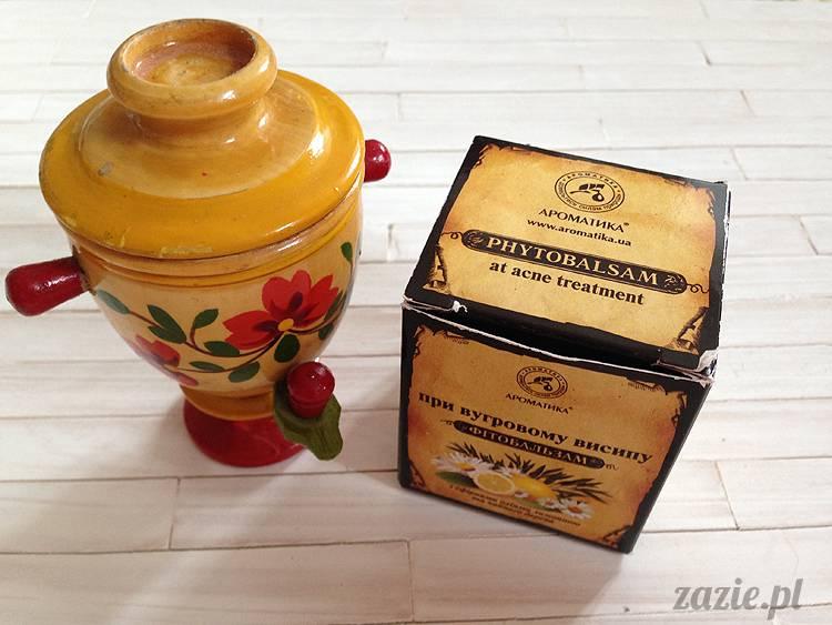 recenzje i testy kosmetyków, opinie o kosmetykach, Aromatika fito-balsam przeciwtrądzikowy z olejkiem cytrynowym i z drzewa herbacianego