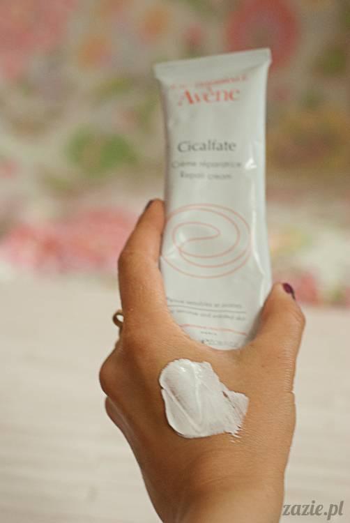 recenzje i testy kosmetyków, opinie o kosmetykach, Avene Cicalfate antybakteryjny krem regenerujący do skóry podrażnionej