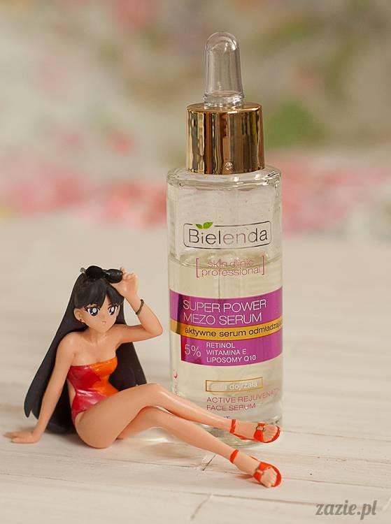 recenzje i testy kosmetyków, opinie o kosmetykach, Bielenda Super Power Mezo Aktywne Serum Odmładzające retinol