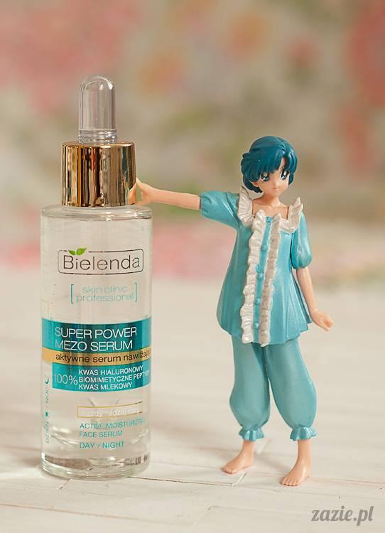 recenzje i testy kosmetyków, opinie o kosmetykach, Bielenda Super Power Mezo aktywne serum nawilżające kwas hiarulonowy