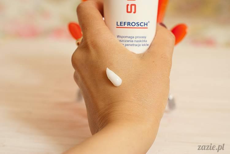recenzje i testy kosmetyków, opinie o kosmetykach, Lefrosch krem Squamax, preparat złuszczający naskórek