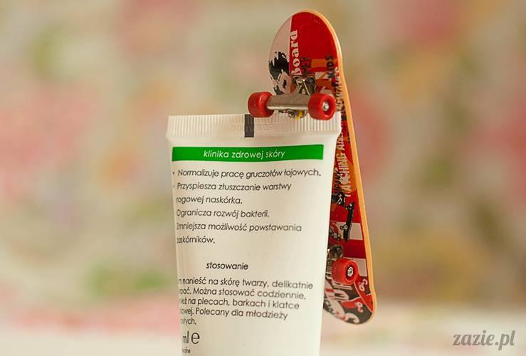 recenzje kosmetyków, opinie o kosmetykach, Ziaja Med, Kuracja antybakteryjna krem redukujący trądzik