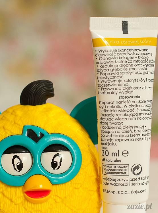recenzje i testy kosmetyków, opinie o kosmetykach, Ziaja Med kuracja dermatologiczna z witaminą C esencja rewitalizująca