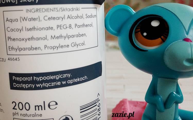 recenzje i testy kosmetyków, opinie o kosmetyków, Ziaja Med kuracja lipidowa fizjoderm żel do mycia skóry atopowej