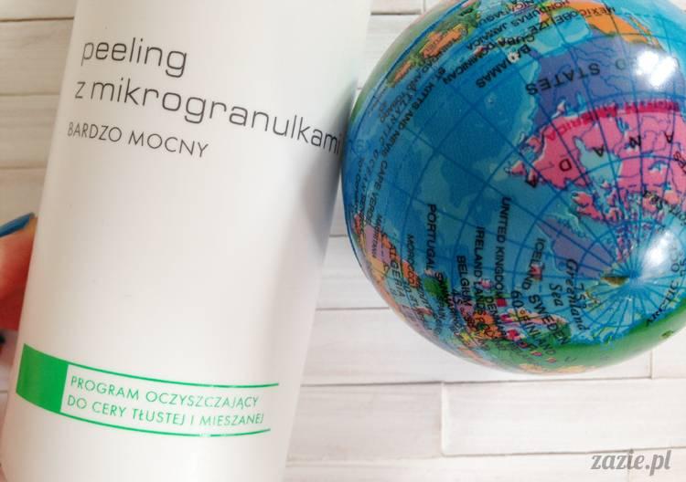 recenzje i testy kosmetyków, opinie o kosmetykach, Ziaja Pro peeling z mikrogranulkami bardzo mocny