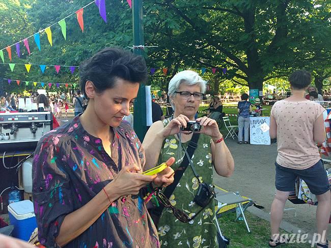 Ochocianie Sąsiedzi, IV PIknik Sąsiedzki w Parku Wielkopolskim, Warszawa Stara Ochota czerwiec 2015