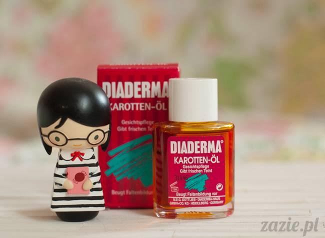 blog kosmetyczny, recenzje i testy kosmetyków, opinie o kosmetykach,, diaderma karotten oil olejek karotenowy