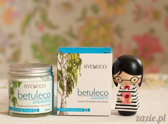 blog kosmetyczny, recenzje i testy kosmetyków, opinie o kosmetykach, sylveco betuleco zawiesina ekstrat z kory brzozy