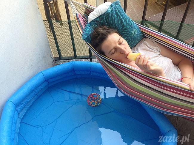 upalne lato z mopsami mopsikami, mopsy Kumok i Miszur