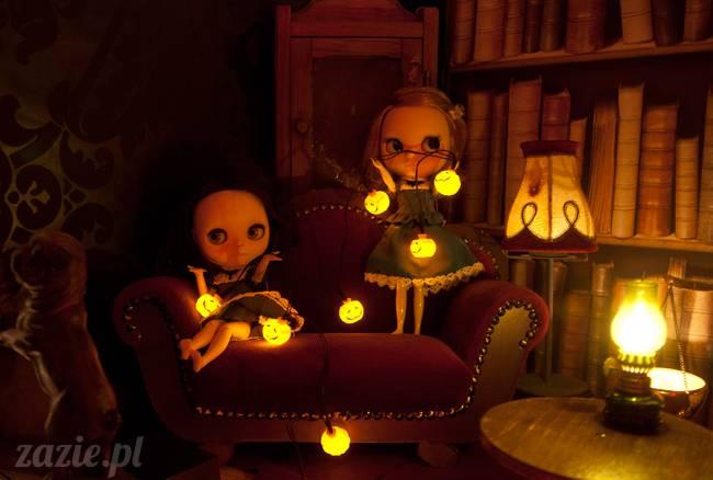 Dolly Halloween, custom Blythe doll, Zazie Dolls, lalka Blythe, lalka Blajt