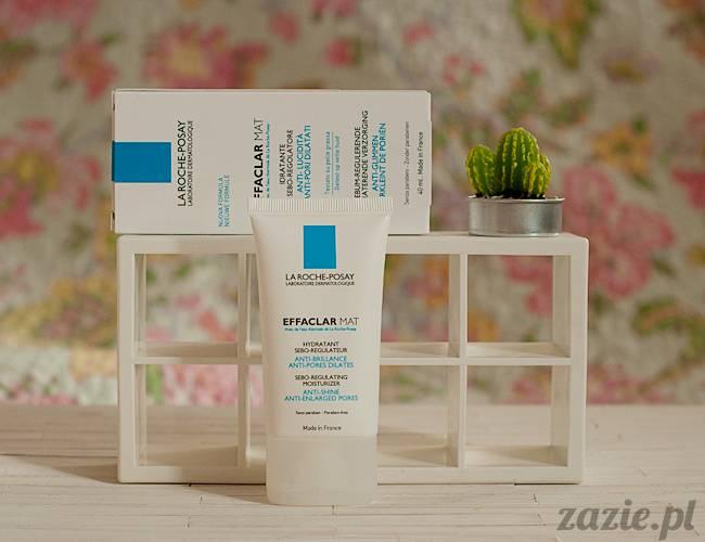 blog kosmetyczny, recenzje i testy kosmetyków, opinie o kosmetykach, la roche posay effaclar mat sebo regulujacy krem nawilzajacy