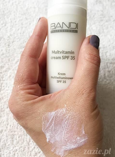 blog kosmetyczny, recenzje i testy kosmetyków, opinie o kosmetykach, leczenie trądziku, cera tłusta, cera problematyczna z niedoskonałościami,Bandi Krem multiwitaminowy SPF30