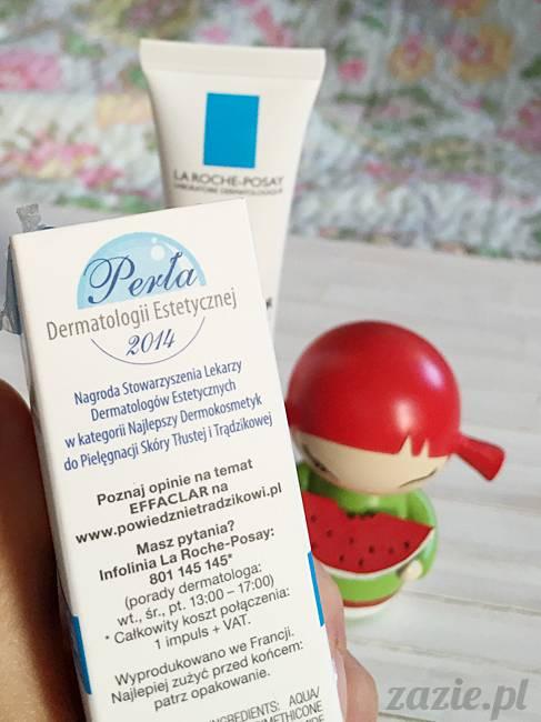 blog kosmetyczny, recenzje i testy kosmetyków, opinie o kosmetykach, leczenie trądziku, cera tłusta, cera problematyczna z niedoskonałościami, La Roche Posay, Effaclar Duo [+] Plus