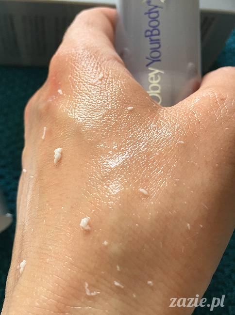 blog kosmetyczny, recenzje i testy kosmetyków, opinie o kosmetykach, leczenie trądziku, cera tłusta, cera problematyczna z niedoskonałościami, Obey Your Body, Radiance-Repair Peeling Gel peeling enzymatyczny