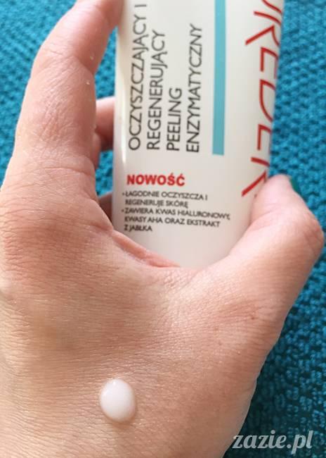 blog kosmetyczny, recenzje i testy kosmetyków, opinie o kosmetykach, leczenie trądziku, cera tłusta, cera problematyczna z niedoskonałościami, Purederm Oczyszczająco-Regenerujący Peeling Enzymatyczny