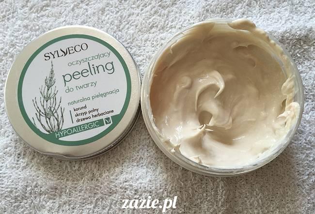 blog kosmetyczny, recenzje i testy kosmetyków, opinie o kosmetykach, leczenie trądziku, cera tłusta, cera problematyczna z niedoskonałościami, Sylveco Oczyszczający Peeling z korundem, korund skrzyp polny drzewo herbaciane