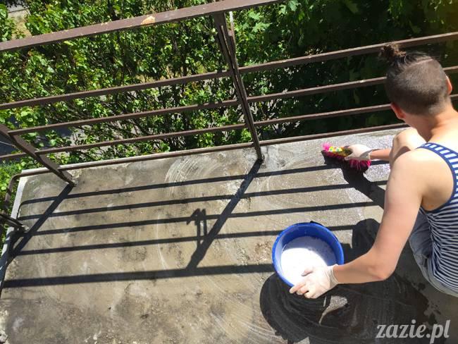 balkon południowy zazie i syd, stara ochota, warszawa