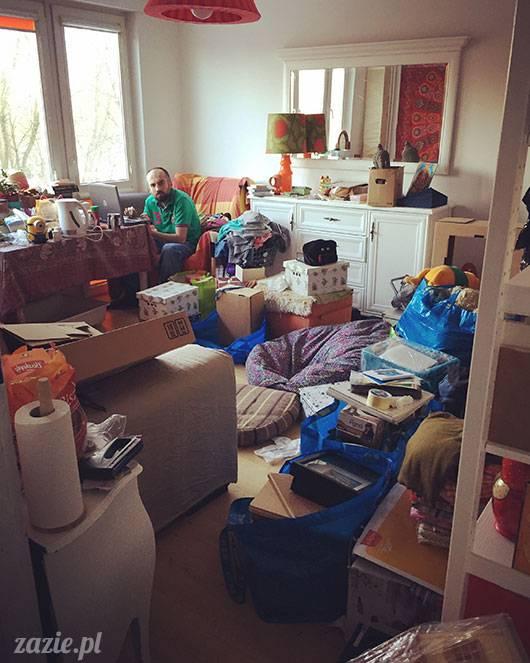 luty marzec Pruszków mieszkanie Zazie Kumok Miszur mopsy