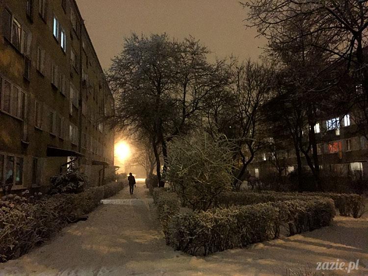 Pruszków zimą